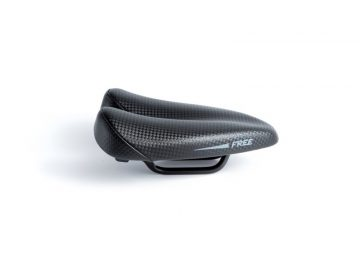 Sillin Duopower Free negro 2 - saddle - bike saddle - no nose saddle - ergonomic saddle