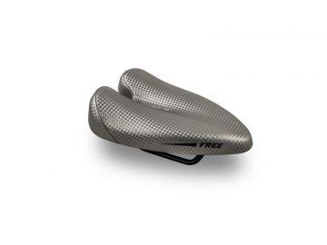 Sillin Duopower Free gris - saddle - bike saddle - no nose saddle - ergonomic saddle